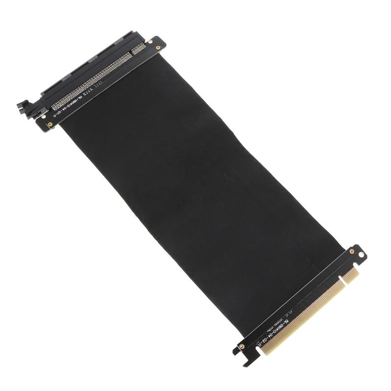 Adaptador de puerto de extensión de tarjeta de Cable Flexible PCI Express 16x Tarjeta de alta velocidad