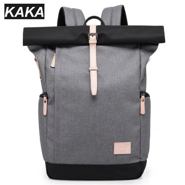 4af9aebf4d7f KAKA Brand Oxford Notebook Backpack 15.6 Inch Waterproof Laptop Backpack  For Men Women Korean Travel School Bag Unisex Y328