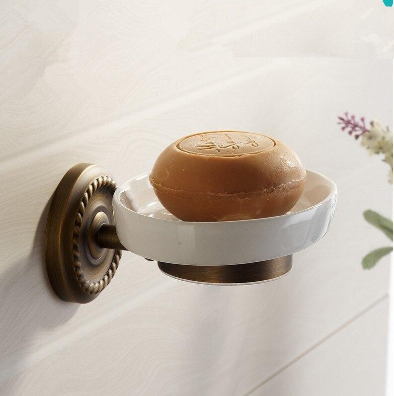 fashion bathroom accessoriesvintage antique brass finish soap basket soap dishsoap holder