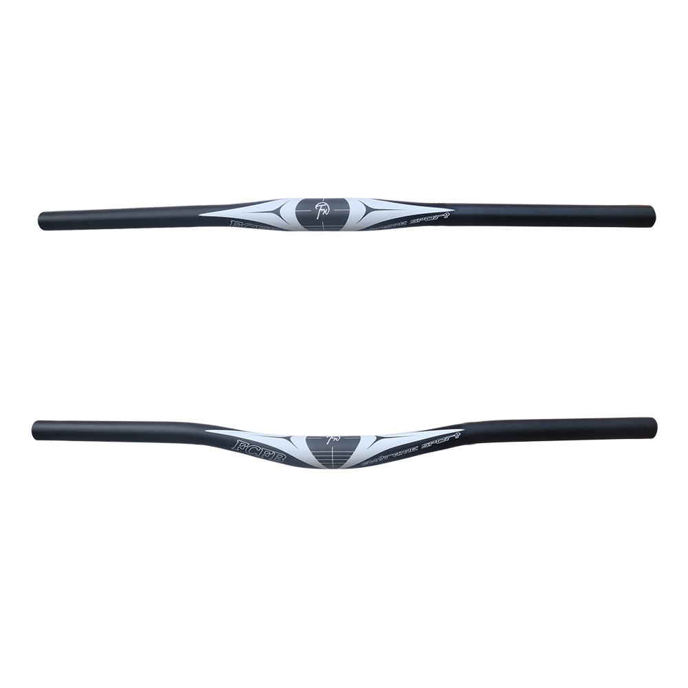 2017 FCFB bike bicycles handlebar 3K carbon+ aluminum moutain handlebar 31.8*620/660MM Extreme sports cycling parts