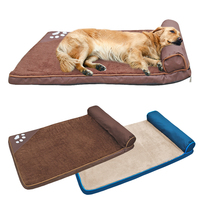 Large Dog Bed Mat Winter Warm Dog Mats Soft Square Cushion Kennel Pet House Nest Sofa For Dogs Labrador Big Dogs