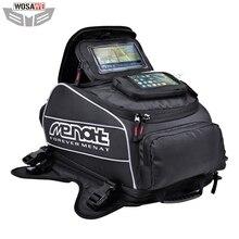 Menat Magnet Motorcycles Fuel Tank Bags Waterproof Motorcycle Helmet Bag Moto Motocross Travel Luggage Phone GPS