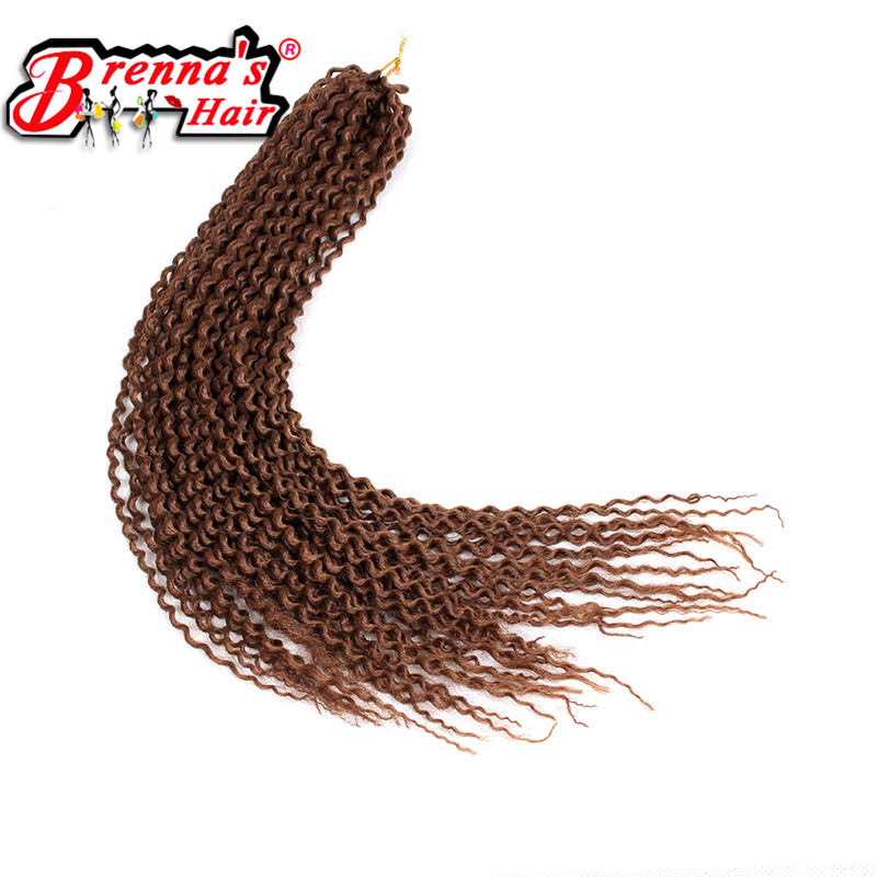 "Freetress Low Temperature Fiber 3Pcs/Pack 16"" Pre Loop Island Twist Crochet Braids Eunice Synthetic Braiding Hair Extensions"