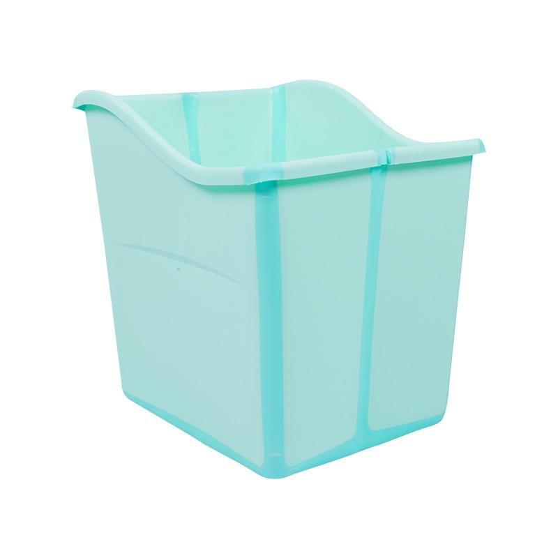 Pataugeoires pour enfants bébé douche baril infantile bain baril baignoire nouveau-né pliable baignoire Pad & chaise & étagère baignoire siège