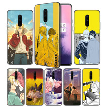 Banana Fish Anime Soft Black Silicone Case Cover for OnePlus 6 6T 7 Pro 5G Ultra-thin TPU Phone Back Protective
