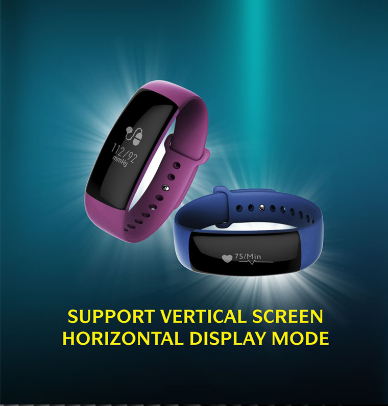 Smartch New M88 BT4 0 0 86 OLED Smart Activity Tracker Bracelet Sleep HR BP Monitor