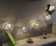 1,5 м 10 светодиодный Светодиодный лампочное Украшение Гирлянда Огни Праздничное контейнер под элемент питания