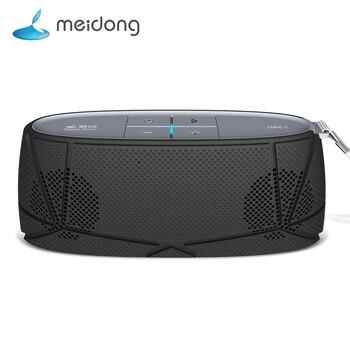 Meidong MD-05 ile mini bluetooth hoparlör Kablosuz Taşınabilir Müzik Ses Kutusu Subwoofer Hoparlörler Mic caixa de som için telefonu