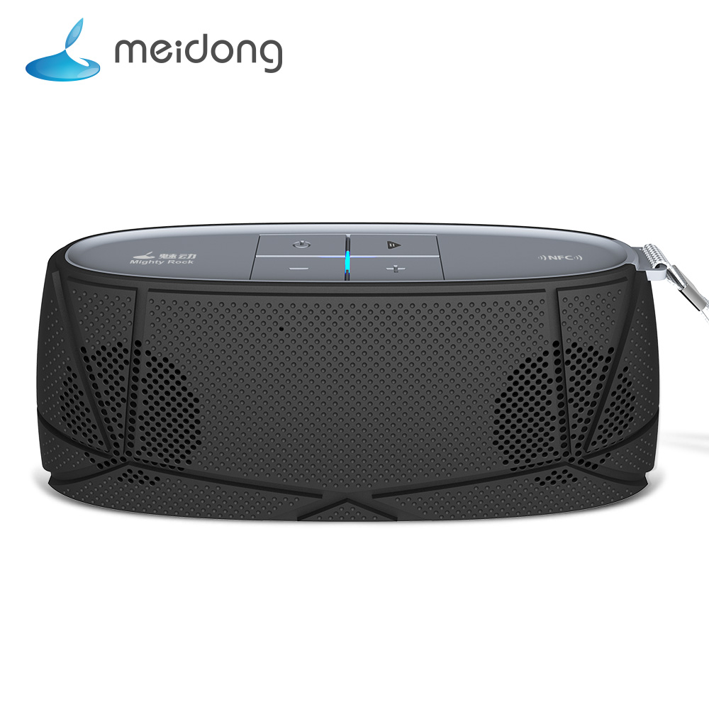 Meidong MD-05 mini Bluetooth Speaker Wireless Portable Music Sound Box Subwoofer Loudspeakers with Mic caixa de som for phone kr8800 portable bluetooth v3 0 led speaker wireless nfc fm hifi stereo loudspeakers super bass caixa se som sound box for phone