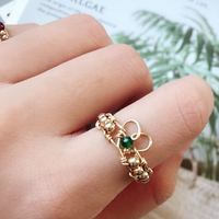 Heart Shape Knuckle Rings Boho Handmade Jewelry Gold Filled Anillos Mujer Bohemian Jewelry for Women Bague Femme Custom Rings