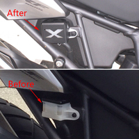 KEMiMOTO For Honda CRF1000L CRF 1000L Africa Twin 2016 Rear Brake Reservoir Guard Protective Cover Protector
