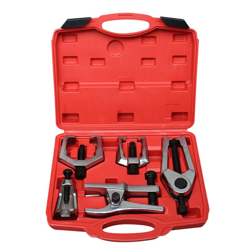 цена на 5-in-1 Ball Joint Puller Tie Rod End Joint Remover Extractor Automotive Tool Splitter Removal Tool Kit Pitman Arm Puller