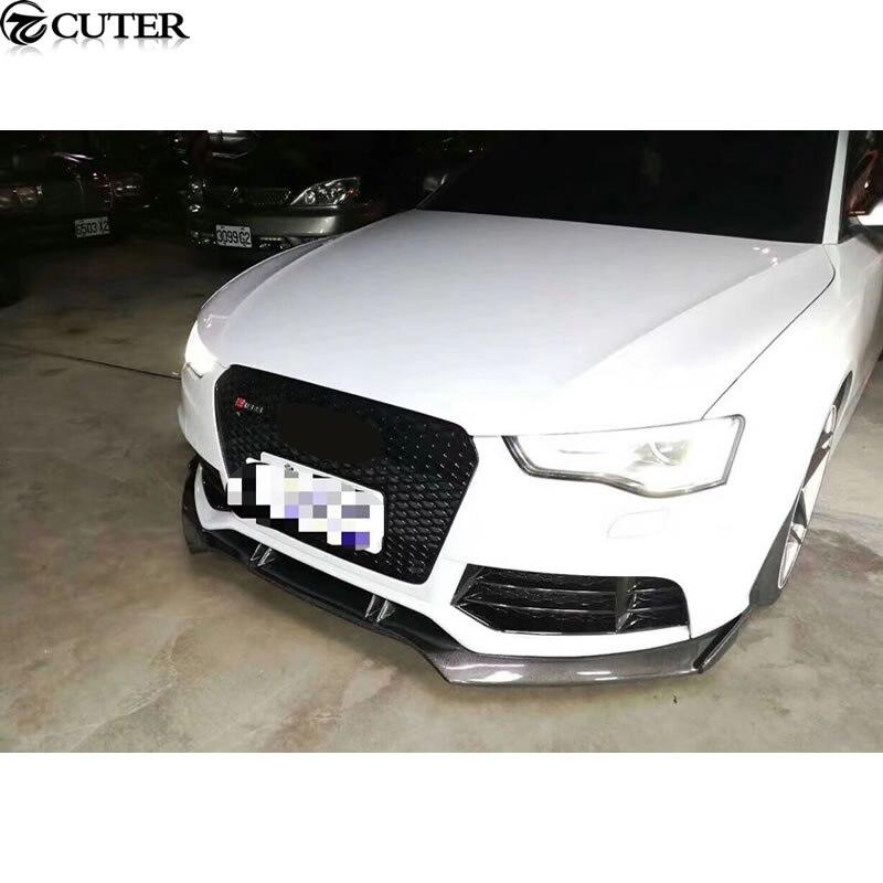 A6 RS6 Carbon Fiber Car Body Kits front bumper front lip for Audi A6 RS6 Car body kit 13-16