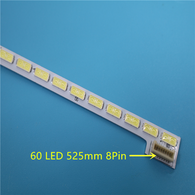 New 60LED 525mm LED Backlight Strip For LG 42LS570T T420HVN01.0 74.42T23.001 7030PKG 60ea 42LS5600 42LS560T 42LS570S 42LS575S