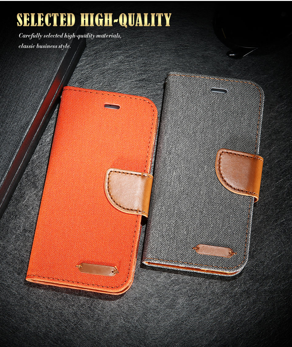 DOEES Luxury Stand Wallet Flip Cases For iPhone 6 6S Plus 7 5 5S SE Fashion Card Slot Leather Cover For iPhone 7 6 5 S With LOGO (2)
