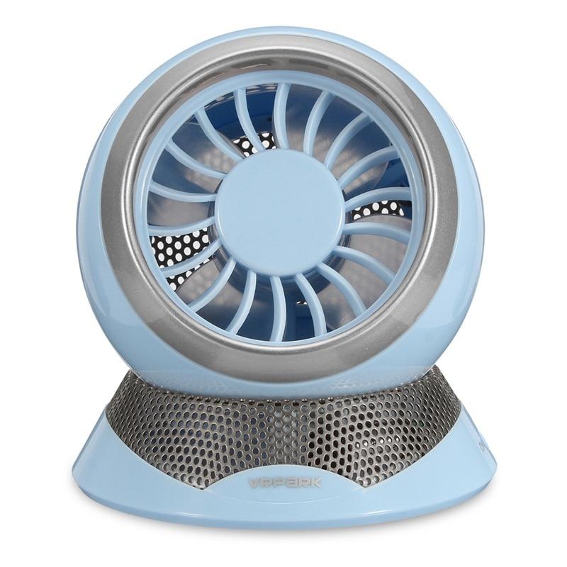 New Design Oxygen Anion Mini Fan USB Cooling Small Portable Quiet Table Fan Table Home Desk Flexible Computer Fan for PC Laptop