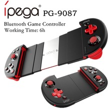 цены на iPega PG-9087 Bluetooth Gamer Controller with telescopic phone stand for Android/IOS Smartphone/PC Practical Stretch Joystick в интернет-магазинах