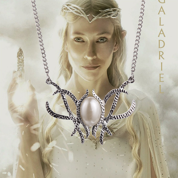 Lord Of The Rings Galadriel's Pearl Necklace