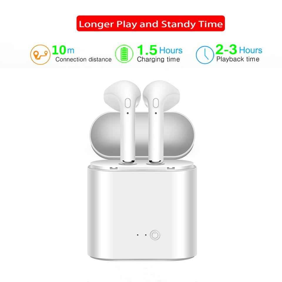 8f0f8351725 Mini Bluetooth Earphone Headphones For Apple iPhone X XS Wireless Headphone  Headset Earphones Phone for Air Pods in Ear Earbuds-in Bluetooth Earphones  ...
