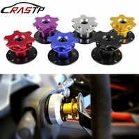 RASTP-High Quality Aluminum Steering Wheel Quick Release Snap off Hub Adapter Boss Kit RS-QR001