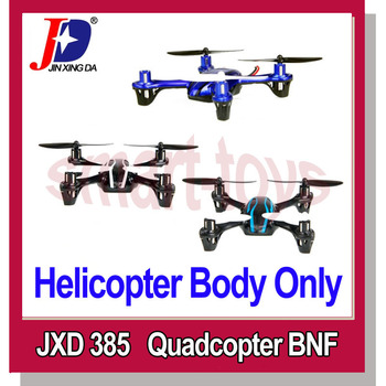 JXD JD 385 2.4GHz 4 Channel 6 Axis RC Quadcopter UFO Hand Throwing with Gyros BNF Without Transmitter