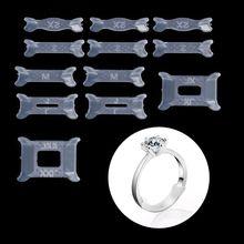 12 шт. невидимое кольцо Размер регулятор для свободного кольца Размер редуктор прокладка кольцо защита