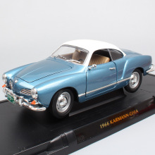 1:18 large Scale brands Road Signature classic 1966 Karmann Ghia coupe diecast vehicles model car toy miniature Replicas gift