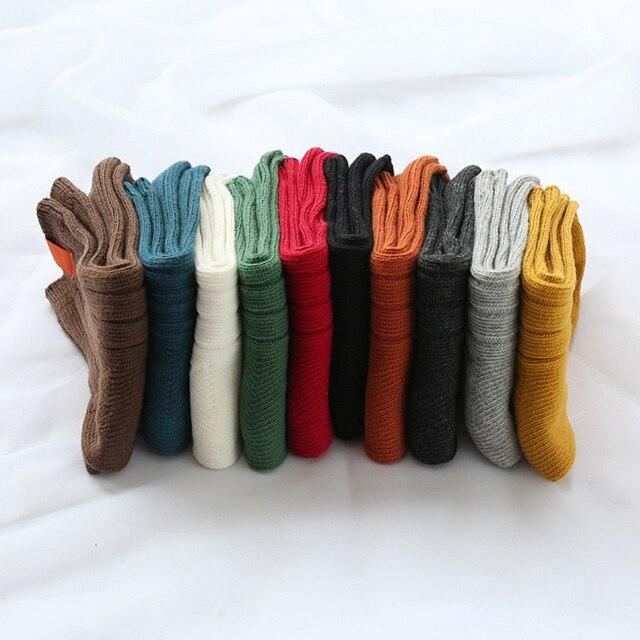 1Pair Warm Women Socks Striped 3D Socks  2