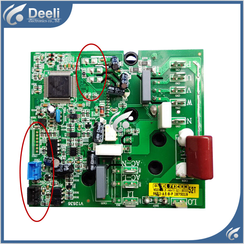 Working good 95% new original for air conditioning parts power module board 0011800052N
