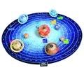 Детская игрушка в подарок Бумаги 3D Puzzle Модель Солнечной Системы бумажная Модель DIY игрушка рождения 3D ГОЛОВОЛОМКА ПИЗАНСКАЯ Солнечной Системы АРХИТЕКТУРЫ