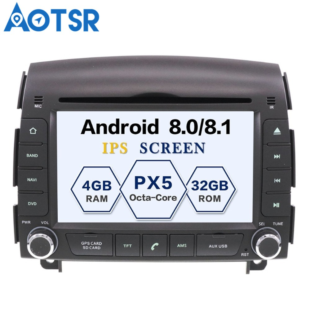 Android 8 0 Car Dvd Player Gps Navigation Auto Radio Stereo For Hyundai Sonata Nf Yu Xiang 2004