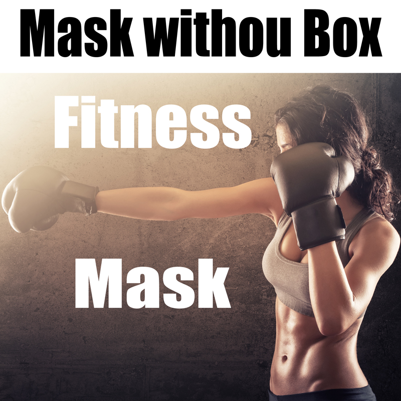 (Mask Withou Box ) Phantom Training Fitness Mask for MMA High Altitude Resistance Outdoor Sport Running Body Building 2016 newest elevation training mask 2 0 high altitude fitness outdoor sport 2 0 training mask	supplies equipment