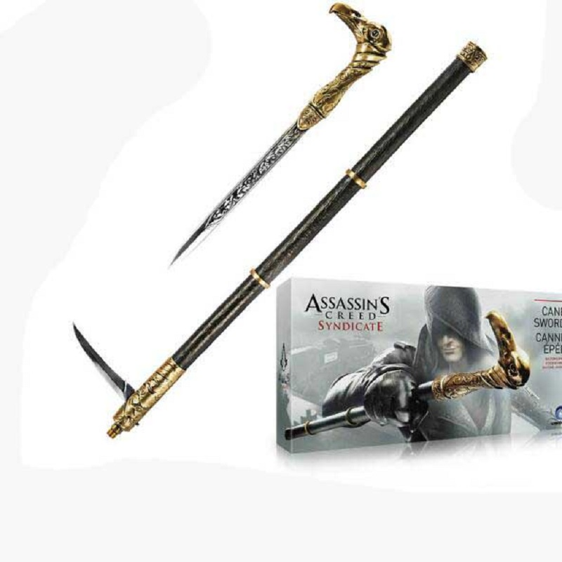 Assassin's Creed Syndicate Cosplay Weapon Arrow Pvc Action Figure Toy Anime Assassin's Creed Party Show Toys Birthday Gift цена