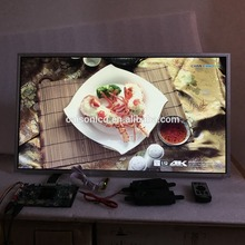 2 HDMI + VGA + DP + Áudio 4 K suporte placa controladora LCD 28 polegada lcd kits com 3840*2160