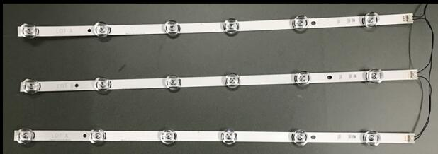 3x Led Backlight For Lg Innotek Drt 3.0 32_a/b 6916l-1974a 1975a 32mb25vq Lv320due 32lf5800 Sung Wei 55vo E74739 59cm 6 Lamps Online Discount Computer Cables & Connectors