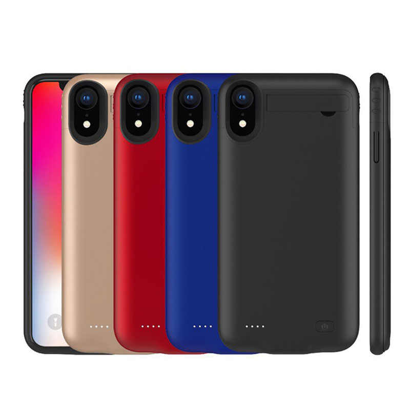 premium selection 985ab 55ee3 5200mAh Power Case For Iphone XS Max XS Charger Case 6.1 Inch 4200mAh  Battery Case Cove For Iphone XR External Battery Charging