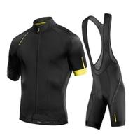 14 estilos 2018 mavic camisa de ciclismo verão equipe ciclismo conjunto bib shorts roupas da bicicleta ropa ciclismo roupas esportes terno Kits ciclismo     -