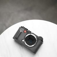 Mr.stone Brand Camera Case For Leica CL Genuine Leather Handmade Bag Half Body Bottom Cover