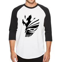 BLEACH Kurosaki Ichigo hip hop T Shirt Men/Women (5 colors)