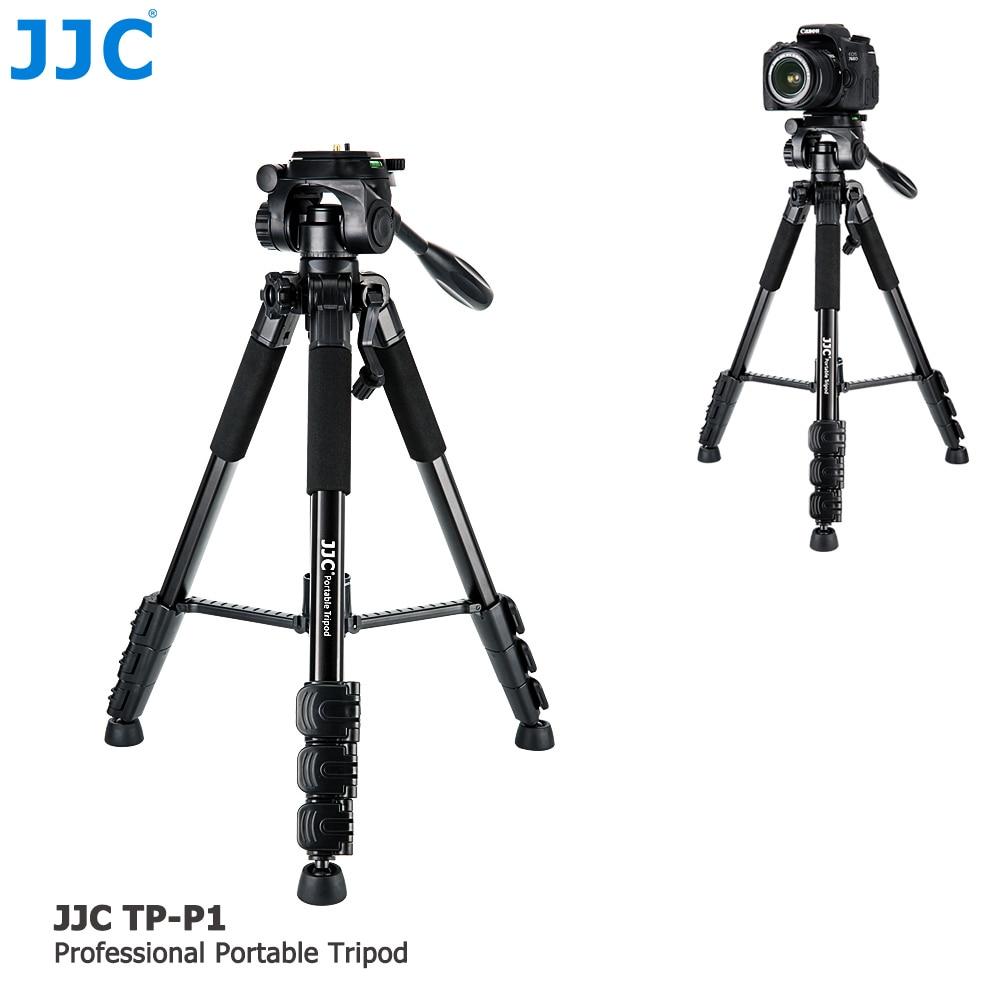 JJC DSLR Flexible Stand Ball Head Portable Monopod Camera Holder Tripod for Canon/Nikon/Sony/Fujifilm/Olympus/Pentax/Panasonic portable digital slr camera tripod stand ball head for canon nikon sony olympus pentax dslr dv camcorer lowangleshooting bk 555