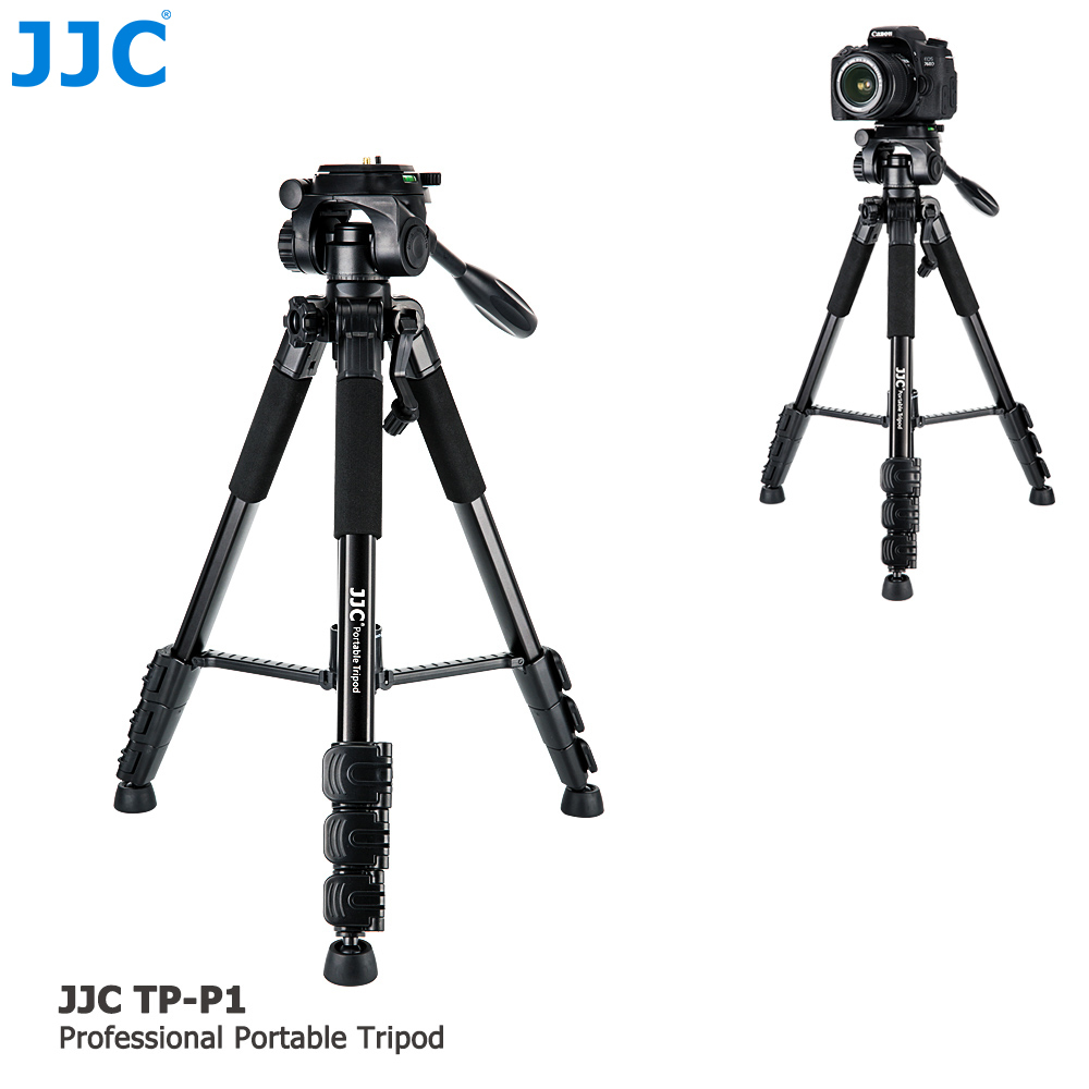 JJC DSLR Flexible Stand Ball Head Portable Monopod Camera Holder Tripod for Canon/Nikon/Sony/Fujifilm/Olympus/Pentax/Panasonic