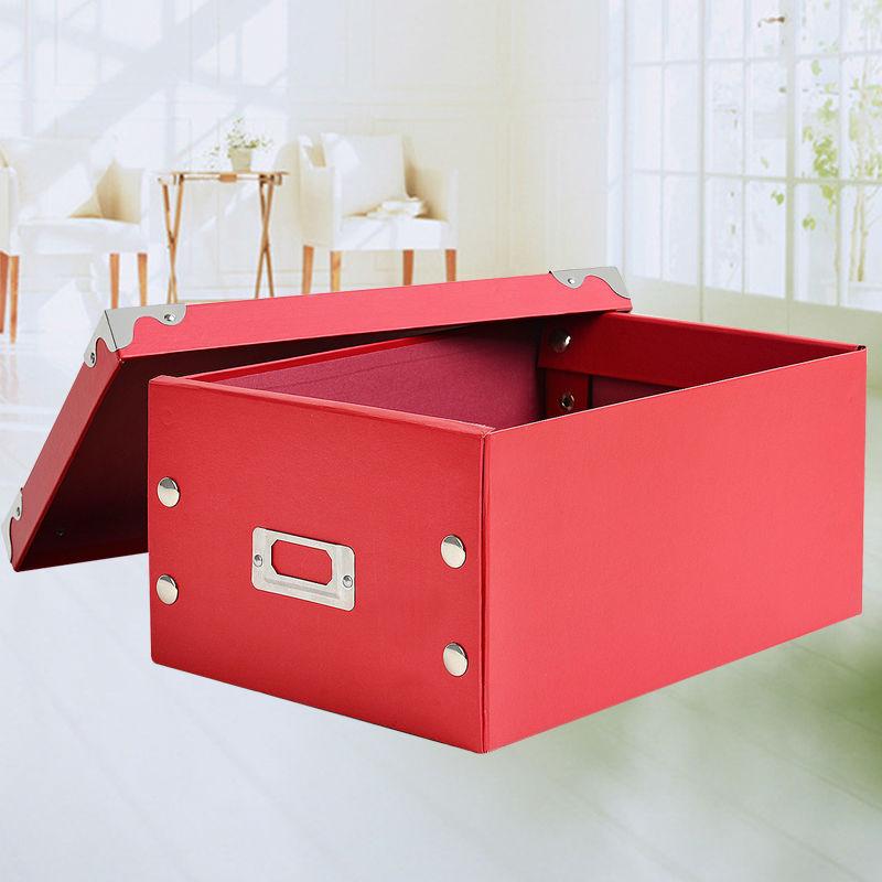 Good ... 2015 New Folding Lidded Cardboard Storage Box For Toy Organize