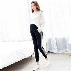 Image 3 - בהריון נשים של מכנסיים סתיו חדש אופנה נשים בהריון מכנסיים ללבוש מכנסיים מכנסי קזואל יולדות בגדי סתיו ללבוש Maternit