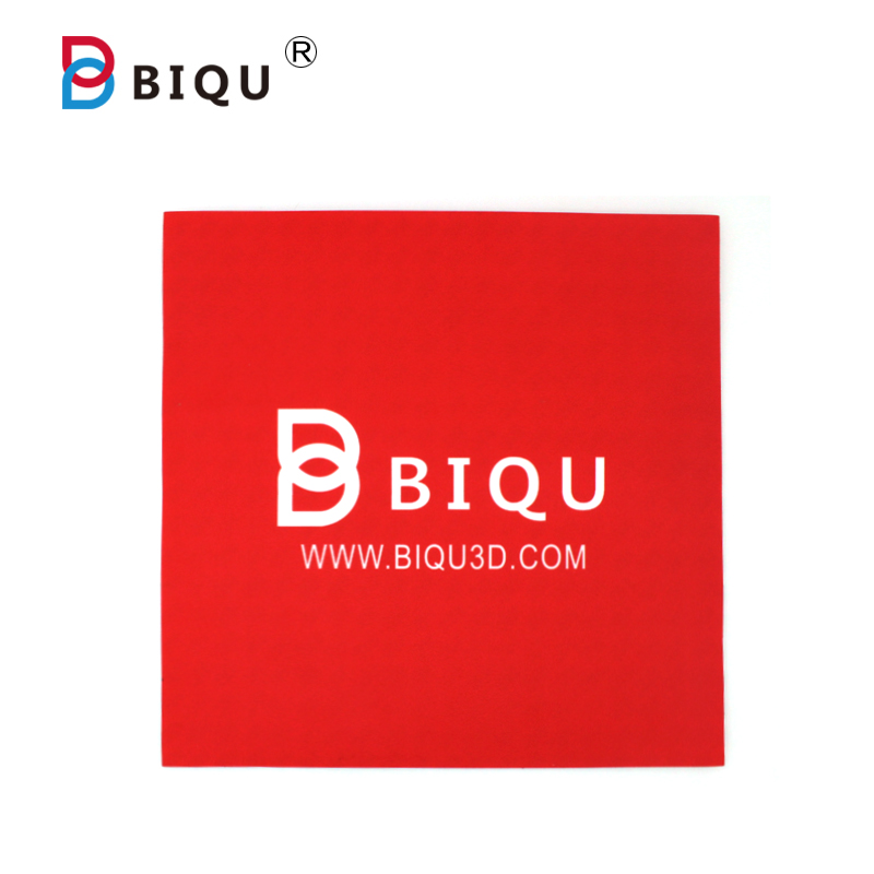BIQU 3D Printer Heatbed Sticker With 3M Tape 300mm*300mm Red 3D Printers Heatbed tape Build Plate Ta