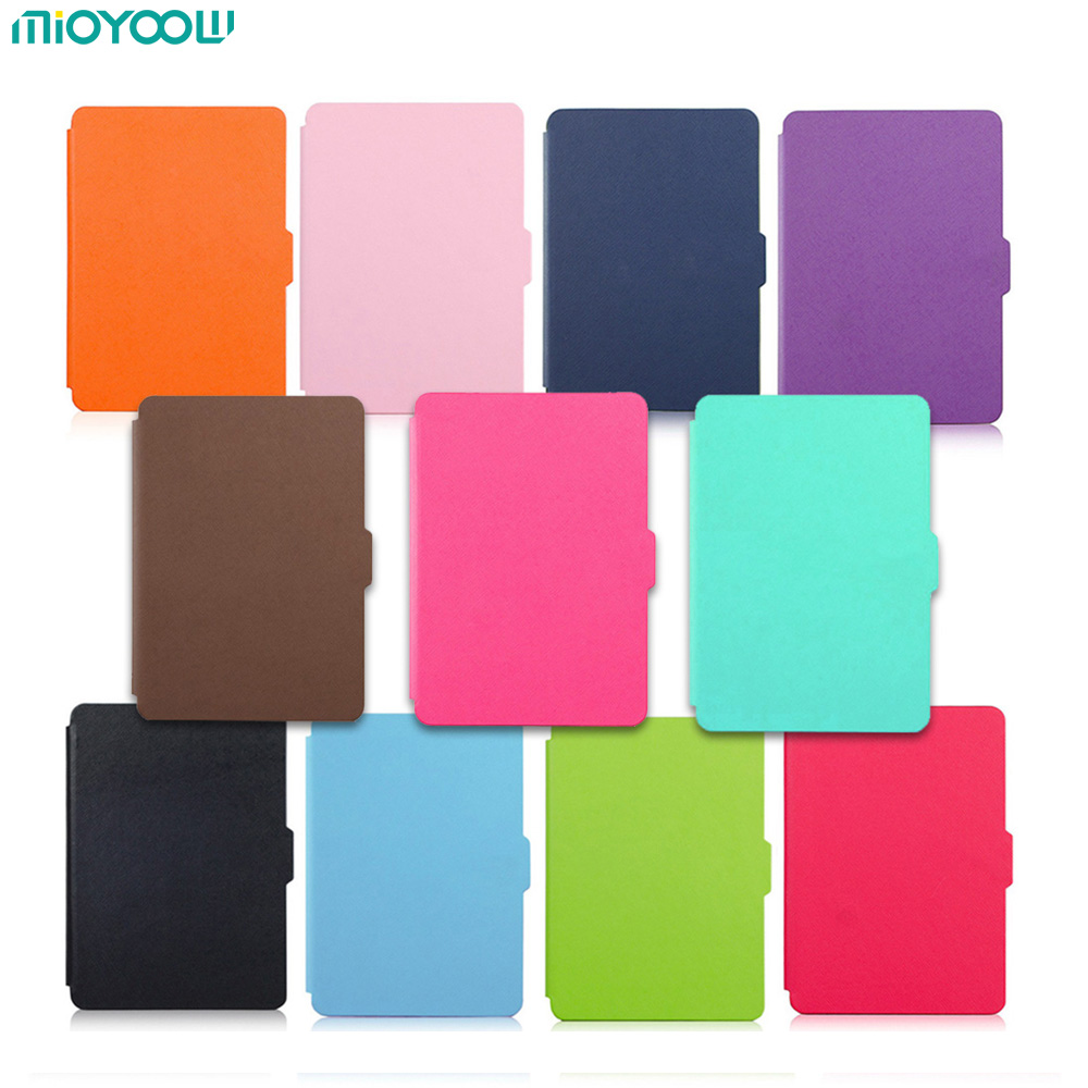 For Amazon Kindle Paperwhite 1 2 3 Case Silm Foldable Cover 6'' Smart Auto Sleep Wake Up Ereader Case For Kindle Paperwhite Capa