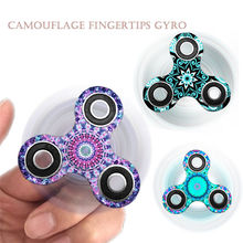 Variety of Tri-Spinner Fidget Toy Ceramic Hand Finger Spinner Focus toy Finger Gyro