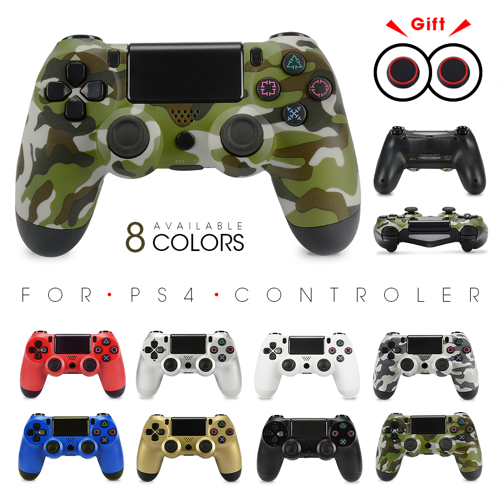 Version1 For Sony PS4 Bluetooth Wireless Controller For PlayStation 4 Wireless Dual Shock Vibration Joystick Gamepads For PS3