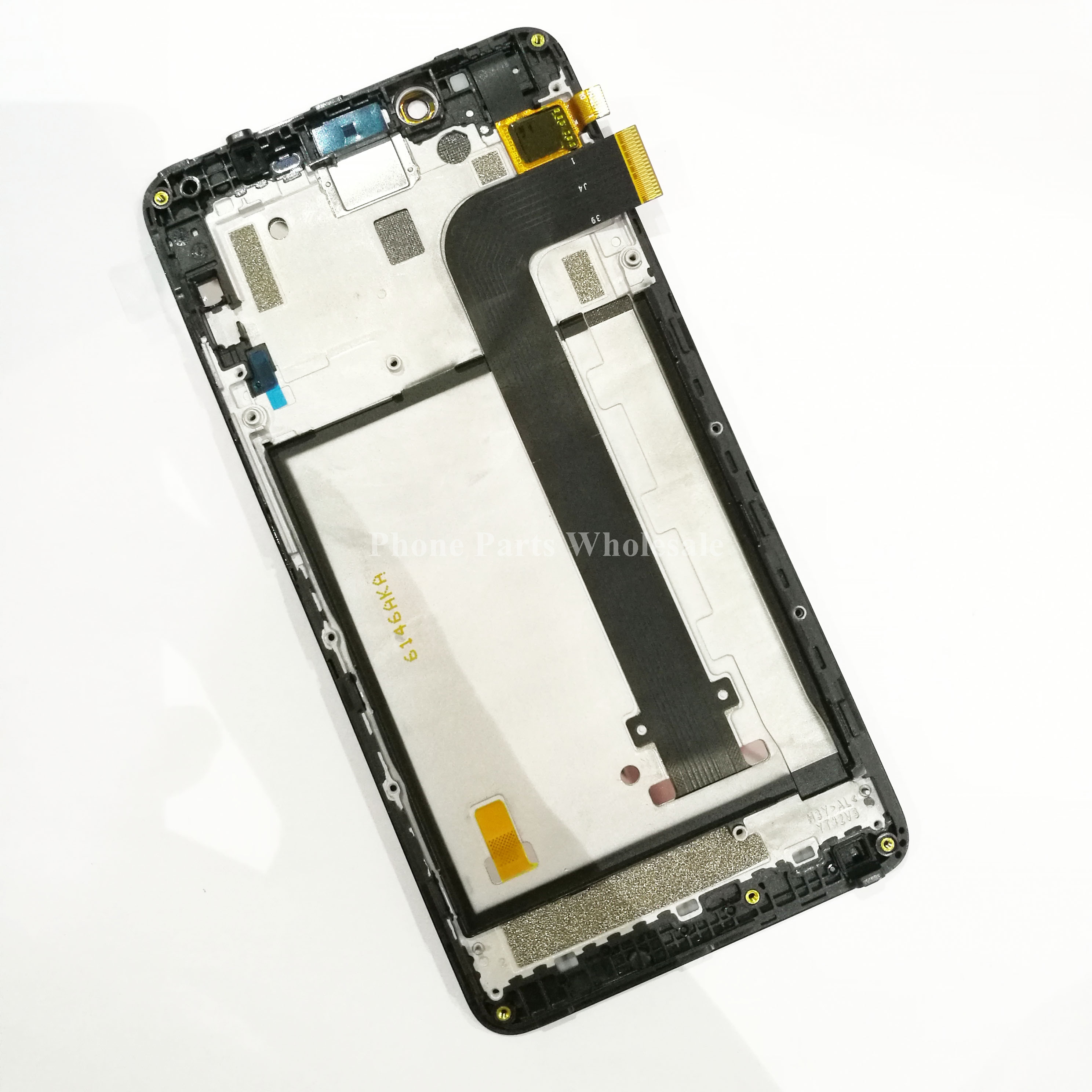 For Xiaomi Redmi Note 2 Original New LCD Display +Touch Screen Panel Digitizer +Bezel Frame Assembly Replacement Parts