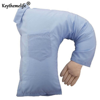 Speical Funny Boyfriend Arm Cushion Soft Throw Pillow Body Hug Washable Girlfriend Bed Sofa Cushion Valentine