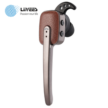 LiiVEES R9030 Business Wireless Bluetooth Earphone Stereo Mini Headset Mic Voice prompt for Office Work Smartphone Beatsstudios